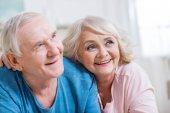 gyönyörű idősebb pár
