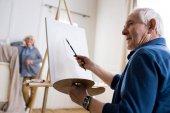 Férfi nő rajz portré
