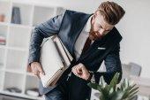 Podnikatel hospodářství dokumenty a složky