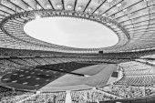 Fotografie Řady sedadel stadion