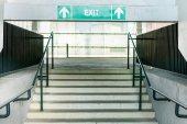 Stadion schody a konec symbol