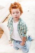 Fotografie bezaubernd kleiner Junge
