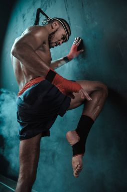 Muay Thai athlete
