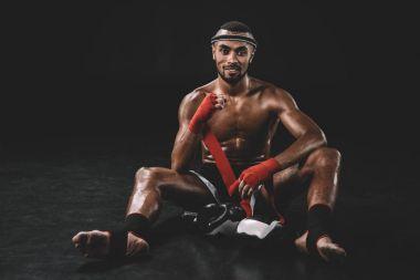 Muay thai boksör