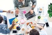 příležitostné podnikatelé pracující v kanceláři