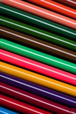 Colorful felt tip pens