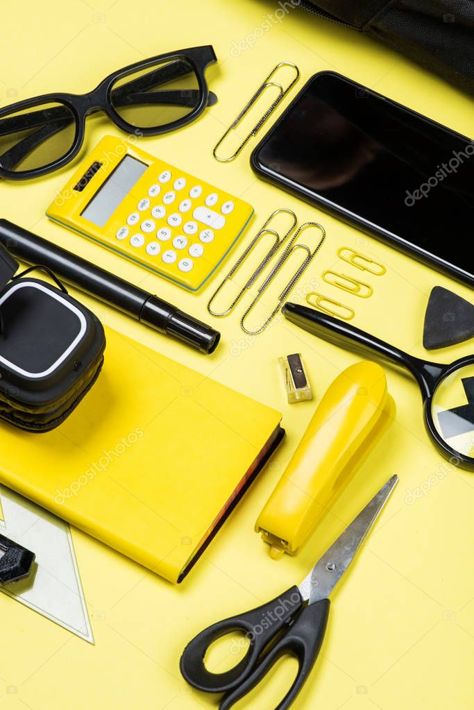 School supplies and electronics