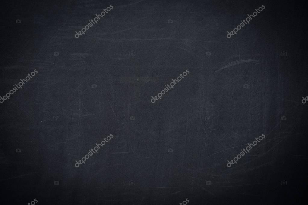 empty black school chalkboard