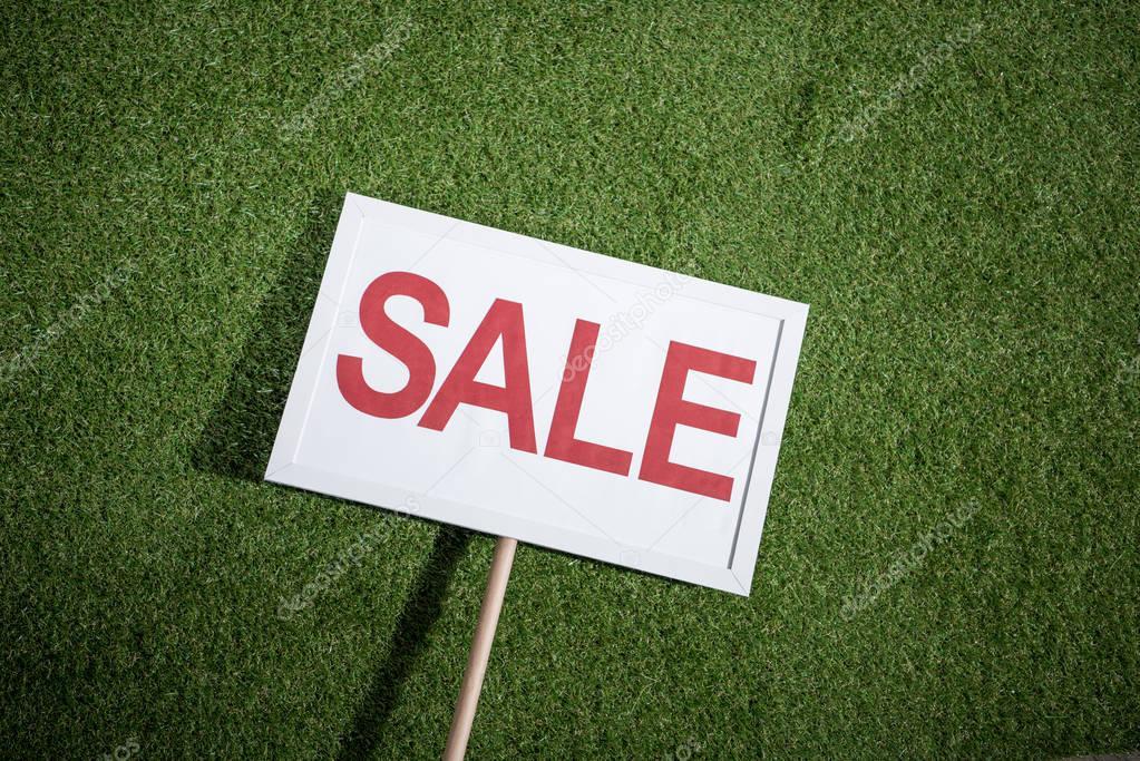 white sale banner