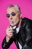 idősebb ember, dohányzás
