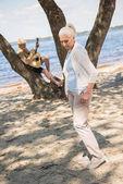 Fotografie Seniorenpaar mit Gitarre