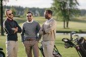Golfisté na golfovém hřišti