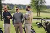 Golfer auf Golfplatz