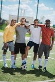 Fotografie mnohonárodnostní fotbalový tým