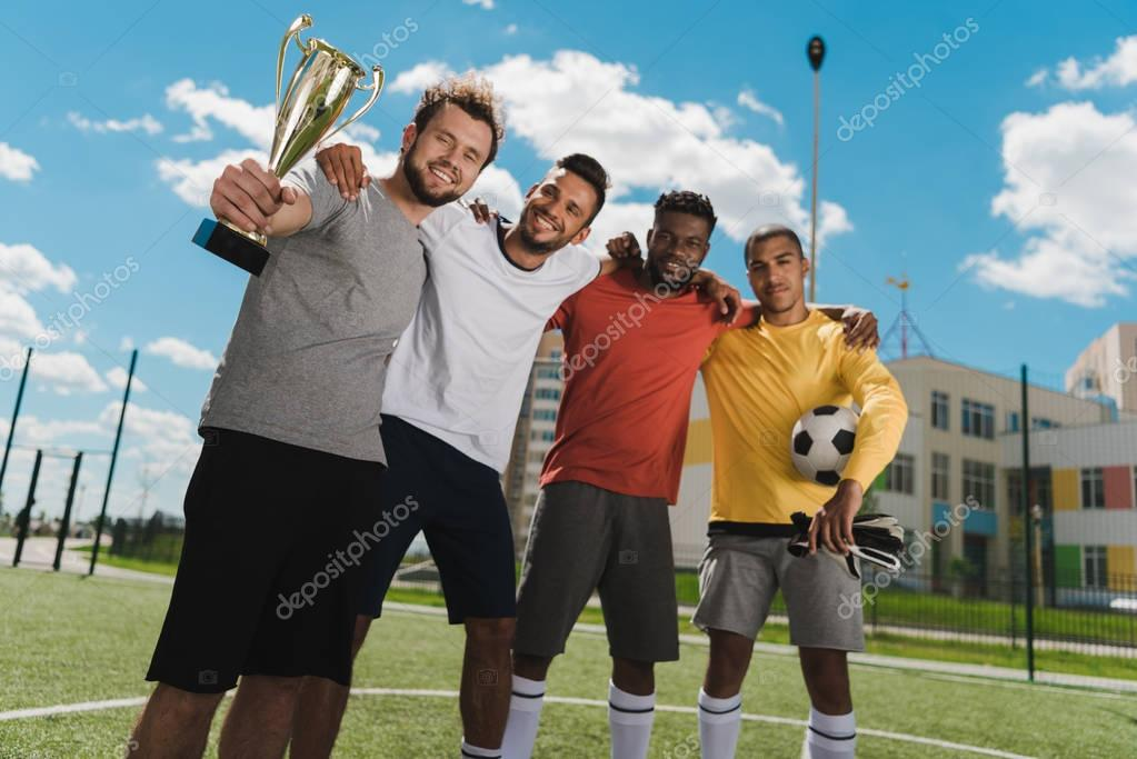 multiethnic soccer team
