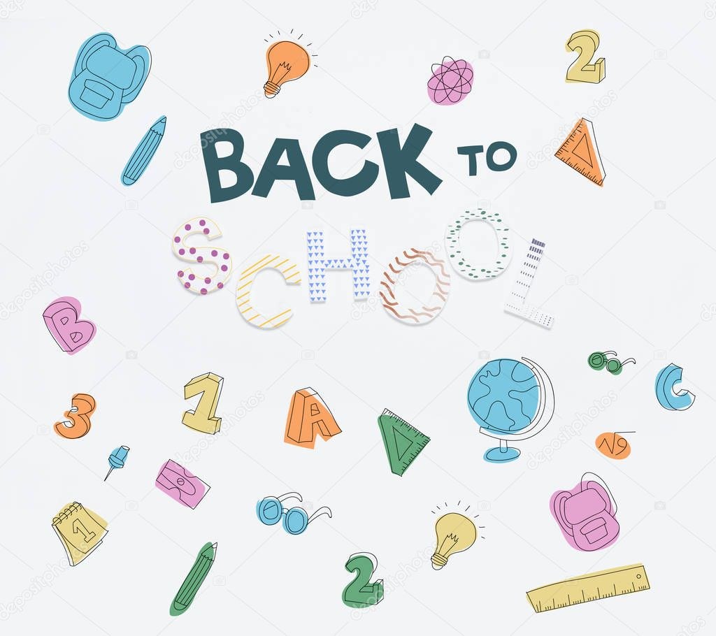 back to school icons
