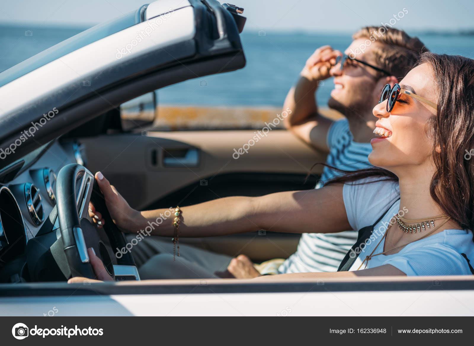 Pictures Car Couple Couple Riding Car Together Stock Photo C Arturverkhovetskiy 162336948