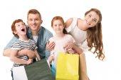 Fotografie Familie einkaufen