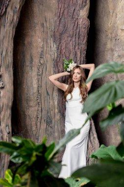 attractive sensual bride