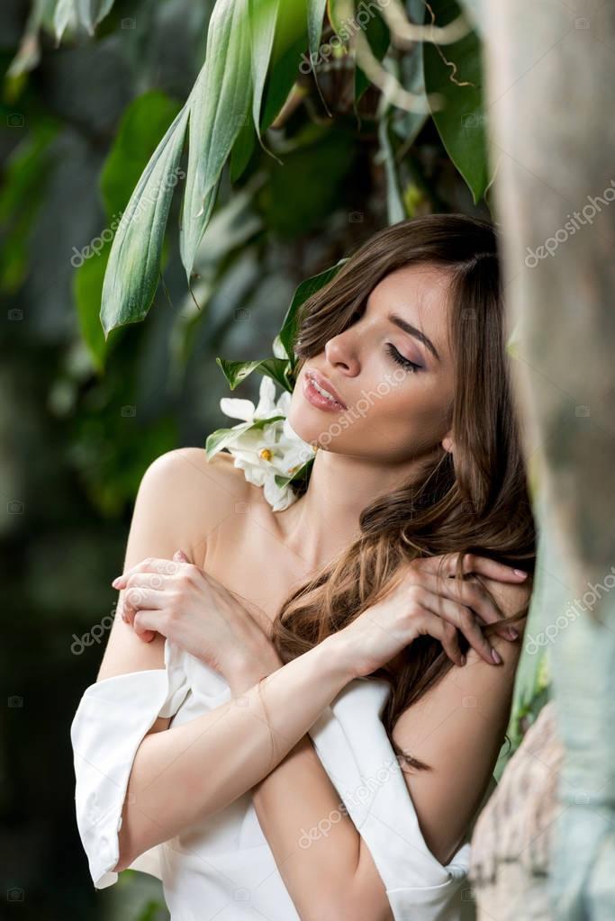 Beautiful sensual bride