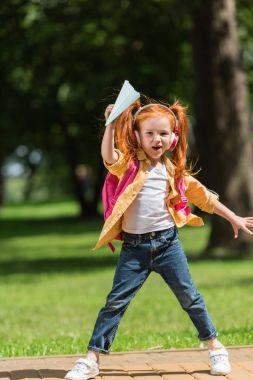 redhead schoolchild