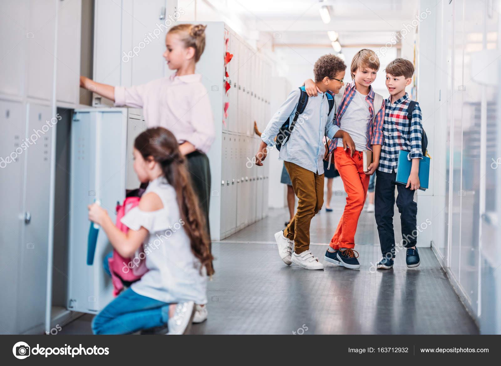Umkleideraum Schule Mädchen Sichere Schule