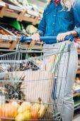 Fotografie woman in grocery shop