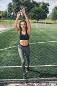 Mladá žena sportive