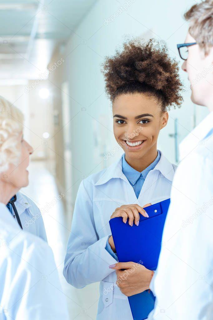 african-american medical intern