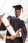 Fotografie graduierte Studenten