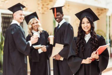 graduated multiethnic students