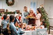 családi karácsony