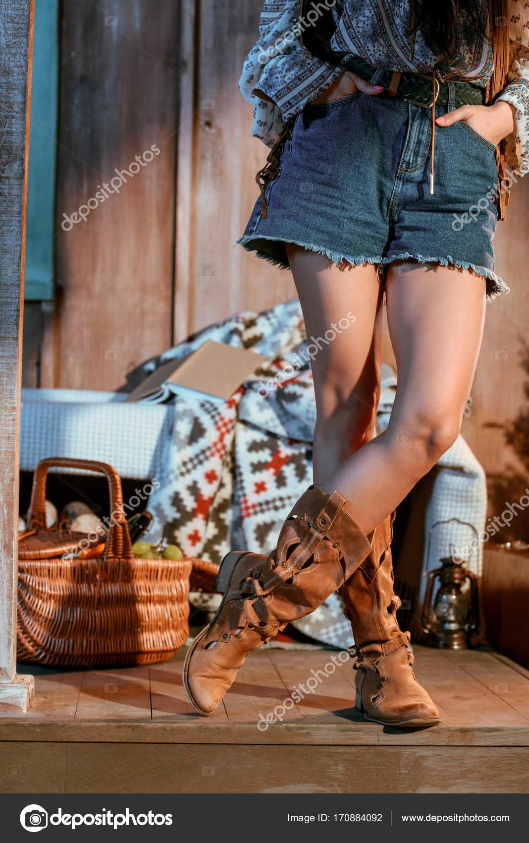Les Short Marron Jeans Femme Chaussures En Et xzqOaI