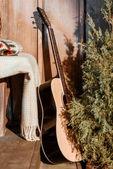 Fotografie akustische Gitarre