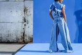 Fotografie stilvolle Afro Mädchen