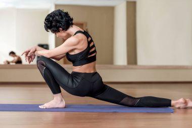 stretching leg