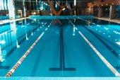 Fotografie pruhy soutěže bazén