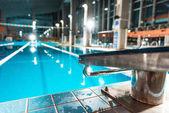 Fotografie skokanské prkno na bazén