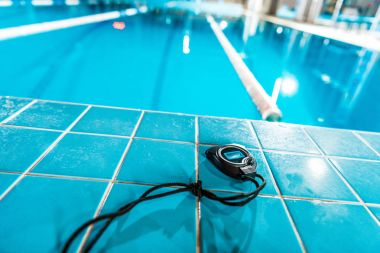 timer at swimming pool