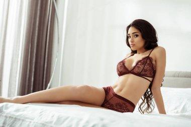 attractive seductive woman