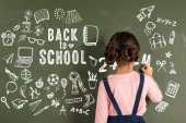 Lány írás Chalkboard