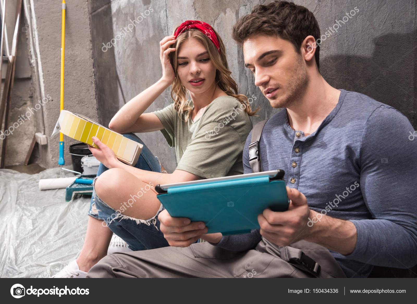 знакомство с молодой парой
