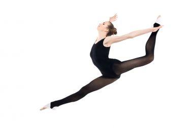 Rhythmic gymnast training