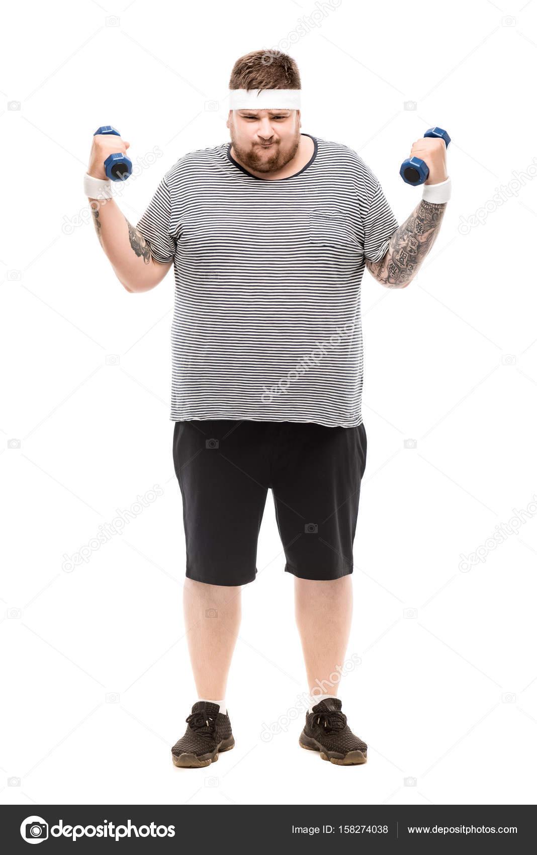 Photo of chubby man advise