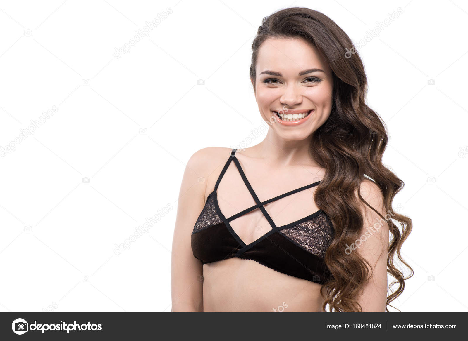 4686cbf8496 young woman wearing lingerie — Stock Photo © DmitryPoch  160481824