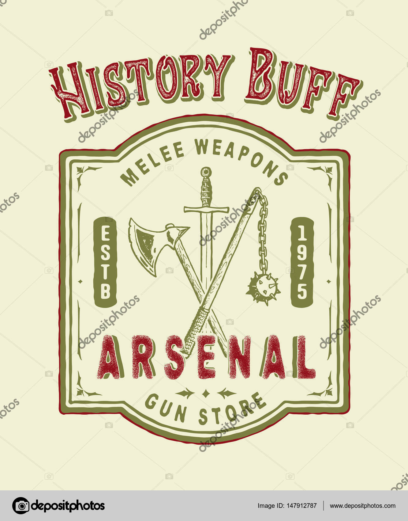 Geschichtsfan. Arsenal. Handgefertigte — Stockfoto © MagicPics ...