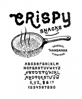 Font CRISPY SNACKS