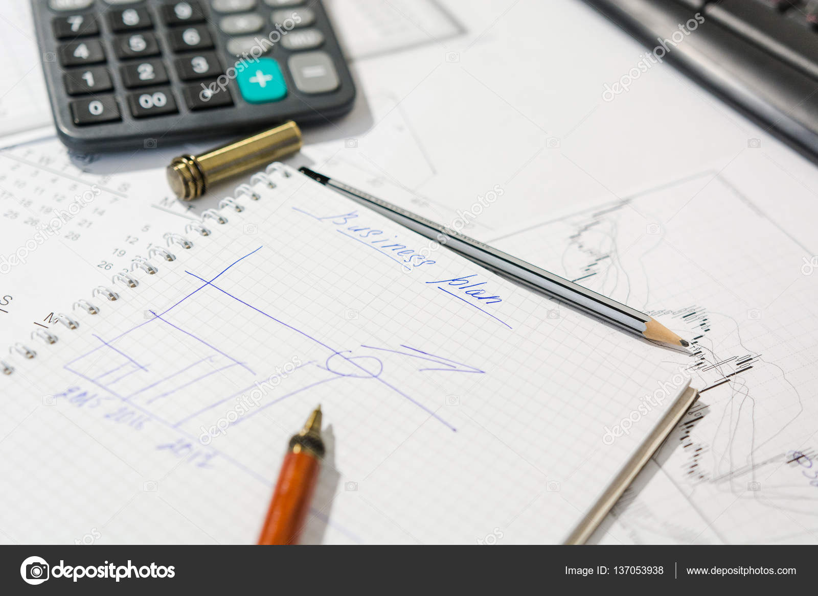draw up a business plan
