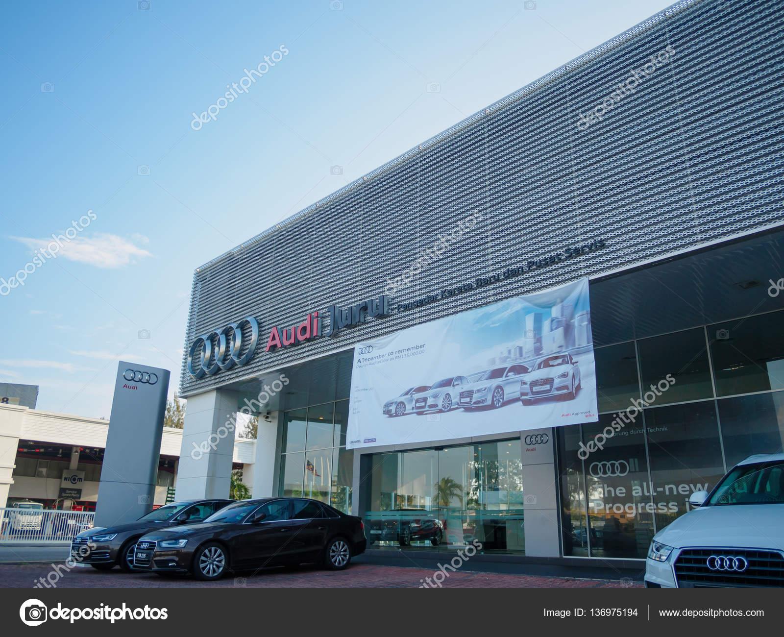 auto city penang malaysia december 17 2016 audi showroom and