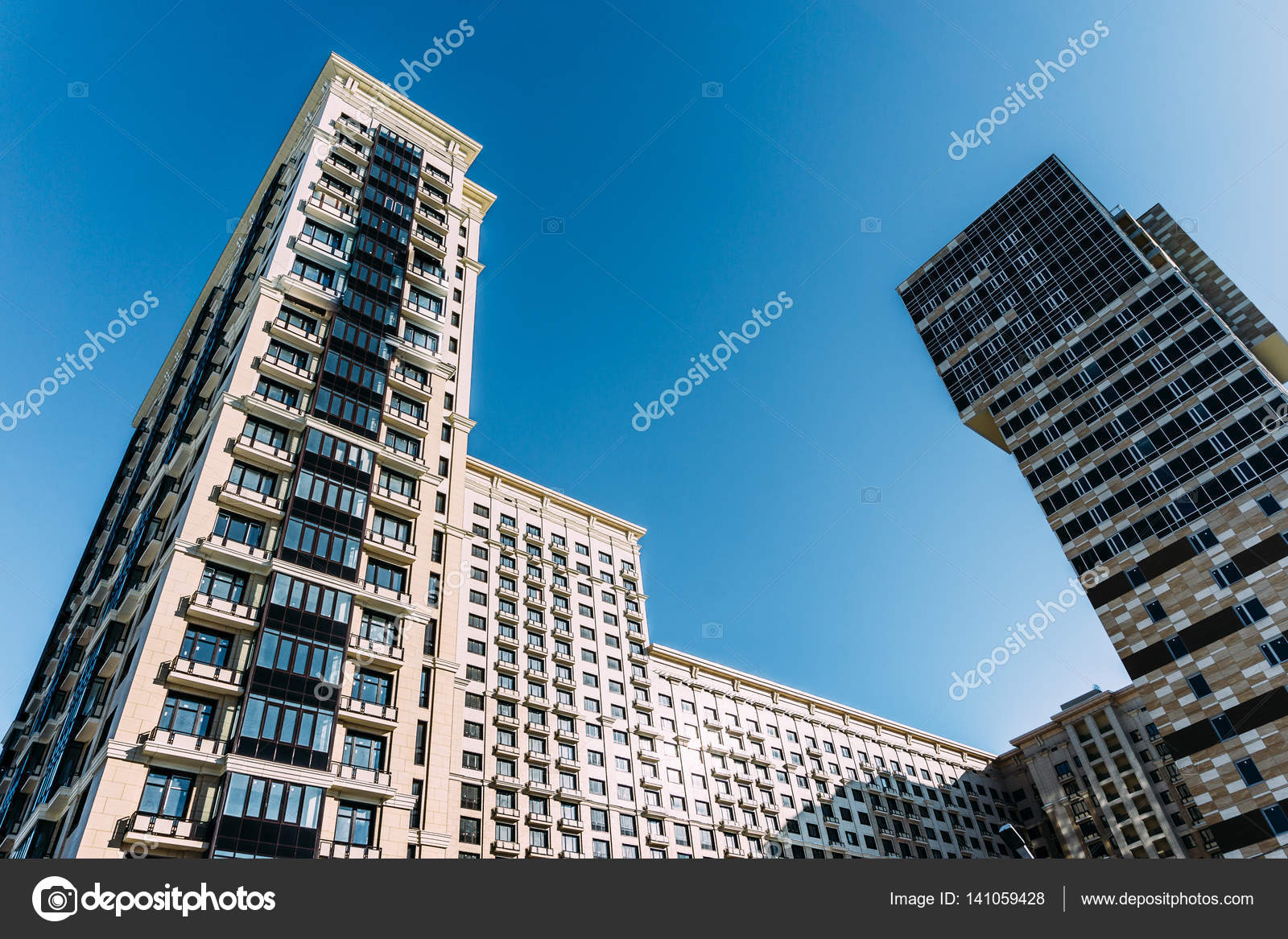 Architettura grattacieli case moderne a voronezh foto for Architettura case